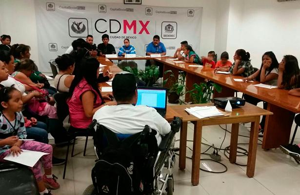 SEDEREC trabaja a favor de niñas y niños indígenas de la CDMX
