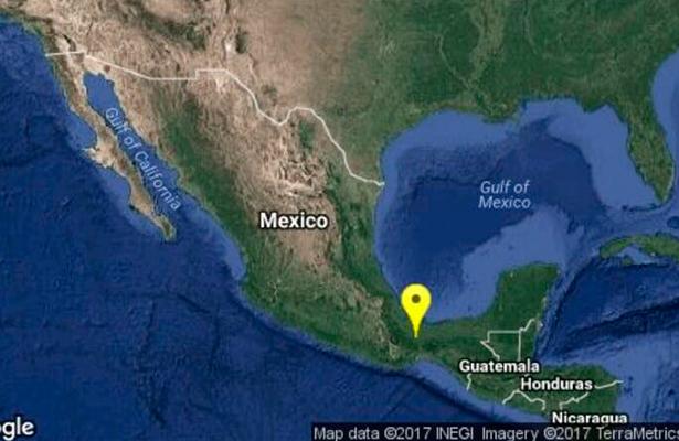 Tiembla en Oaxaca y Veracruz