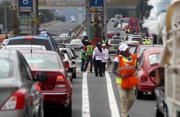 Aumenta el aforo vehicular por vacaciones de Fin de Año