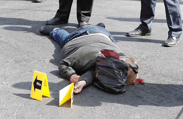 Otra de microbuseros en Zaragoza, matan a viejita