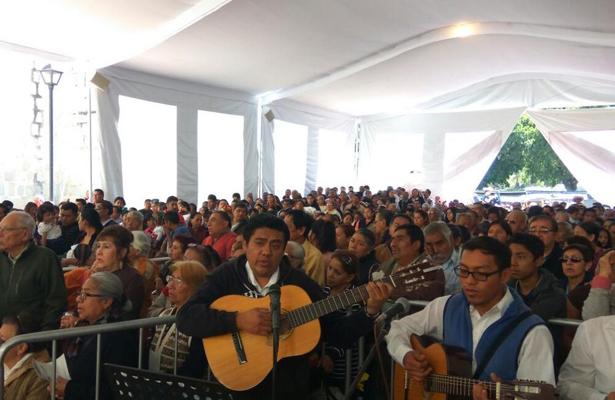 En Oaxaca veneran a la virgen del Tepeyac