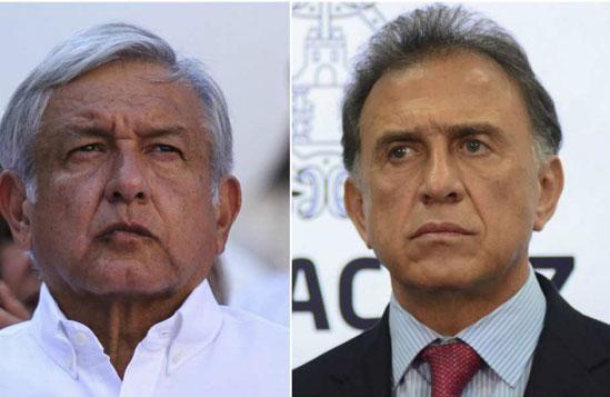 Pleito entre AMLO y Miguel Ángel Yunes