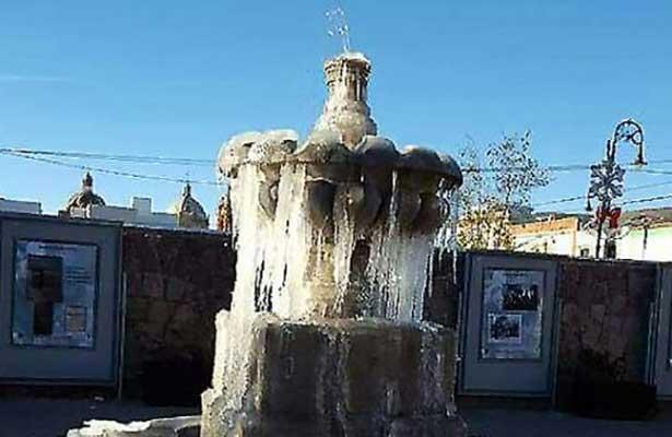Históricas las bajas temperaturas en Zacatecas