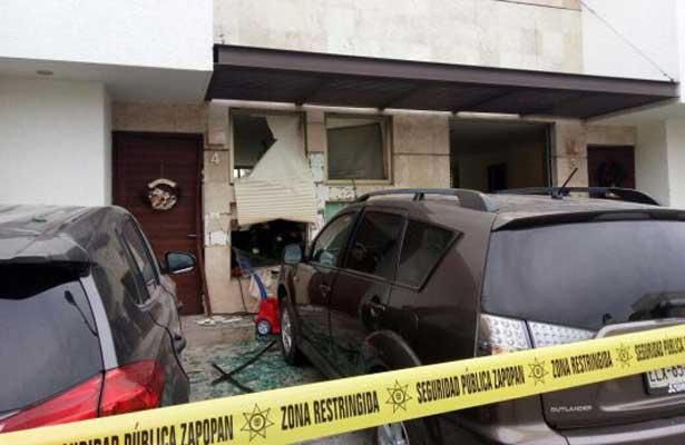 Explosión por fuga de gas en Zapopan deja 10 lesionados