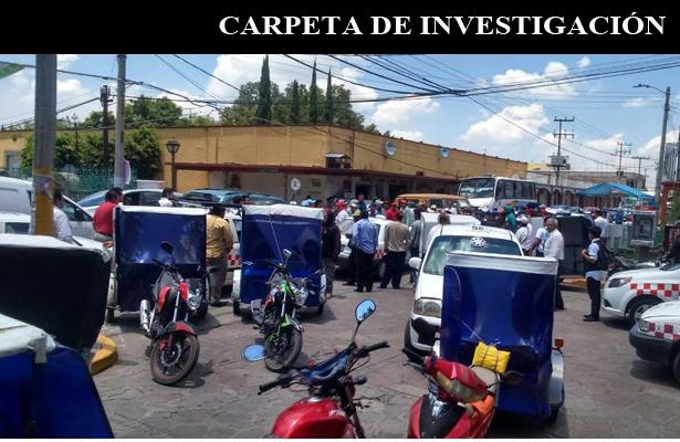 Caos por mototaxis en el Estado de México
