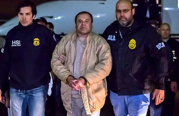 """Posponen para febrero comparecencia de """"El Chapo"""" Guzmán en Nueva York"""