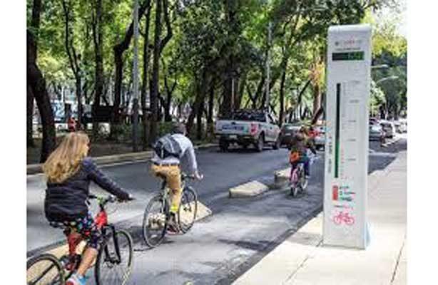Prevén ciclovía rehabilitada en Reforma a principios de febrero