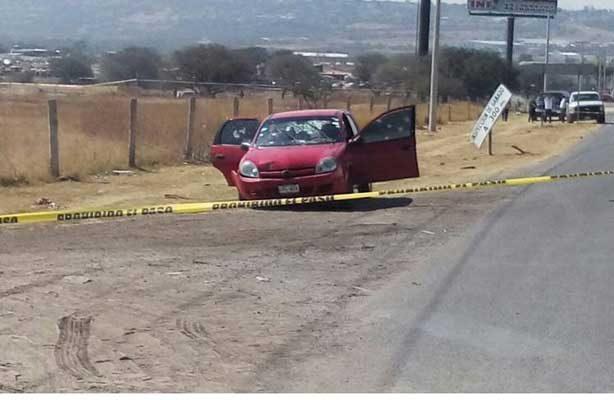 Matan a tiros a dos personas en Guanajuato