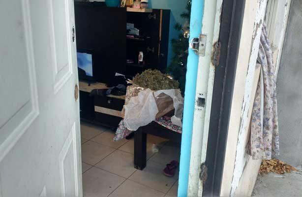 Hallan droga en domicilio de Apodaca