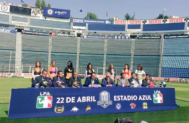 La final de la Liga de Futbol Americano al Estadio Azul