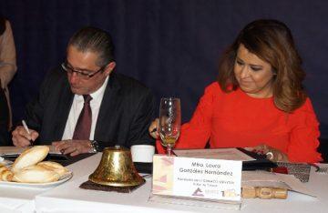 Firman convenio Fiscalía General y Canaco Valle de Toluca