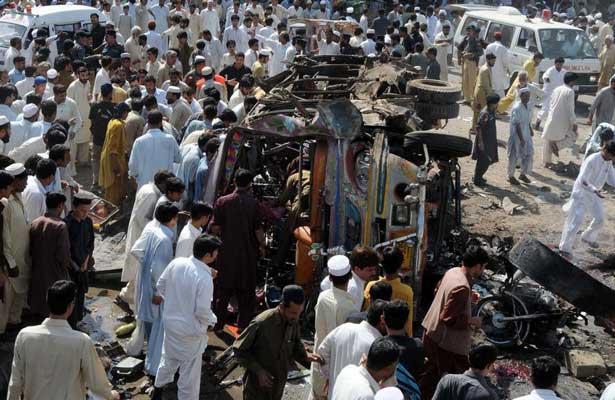 Atentado en Pakistán deja siete muertos y 15 heridos