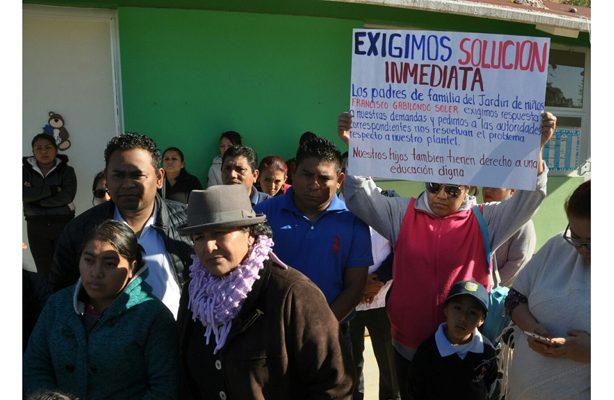 Denuncian falta de atención para la reconstrucción de plantel afectado por el sismo en Oaxaca