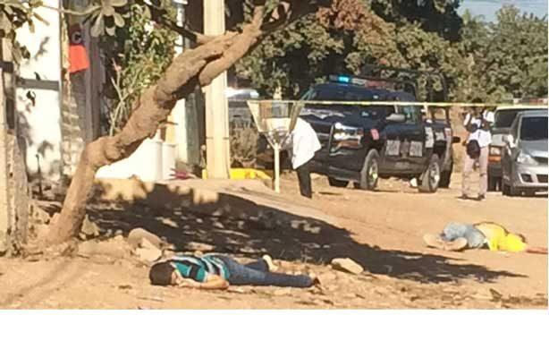 Mueren tres personas baleadas en Culiacán