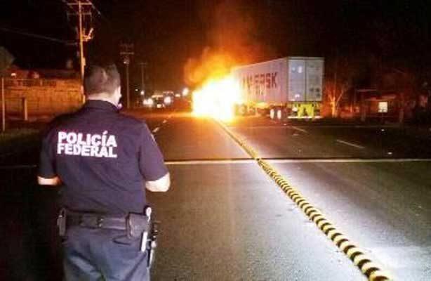 Reacciona crimen ante acciones de fuerzas estatales y federales en Michoacán