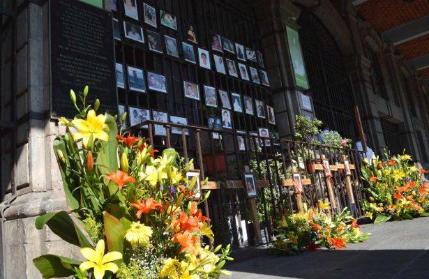 Hay 44 fotografías en el memorial de Morelos