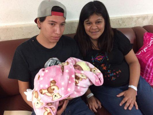 Niño el primer bebé 2018 en IMSS Querétaro