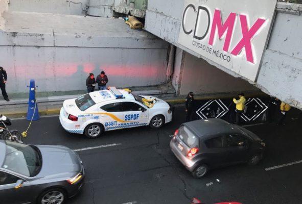 Indigente muere atropellado en centrales de Viaducto