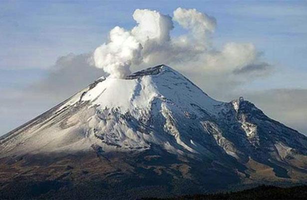 Popocatépetl continúa con actividad de escala baja a intermedia