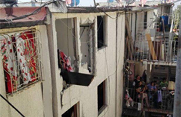 Reportan una explosión U.H de Culhuacán