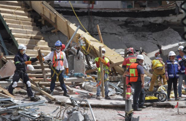 Presentan programa para reconstrucción de la capital mexicana tras sismo