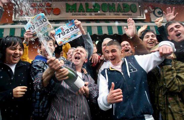 Se llevan el premio gordo de lotería en E.U