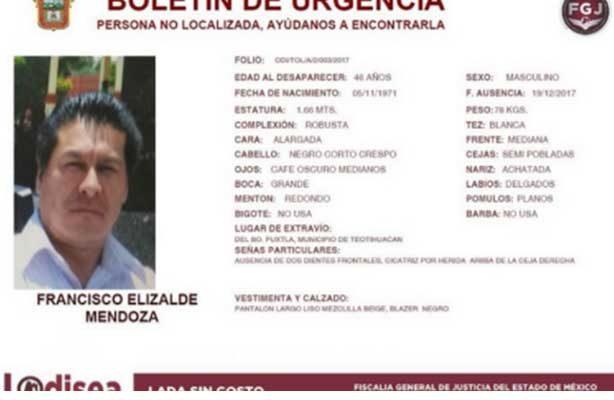 Sin pista de regidor de Teotihuacán; designarán a nuevo funcionario