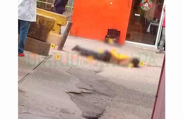 Asesinan a hombre a balazos en Xalapa