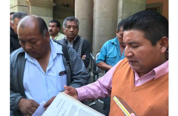 Autoridades municipales del Valle de Tlacolula, Oaxaca, piden al gobierno seguridad ante la ola de delincuencia