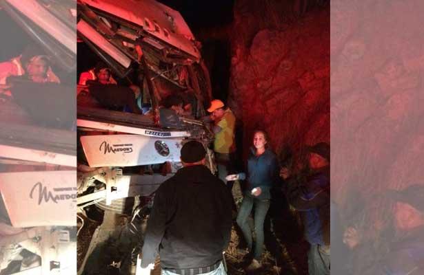 Fatídico accidente carretero deja cuatro muertos