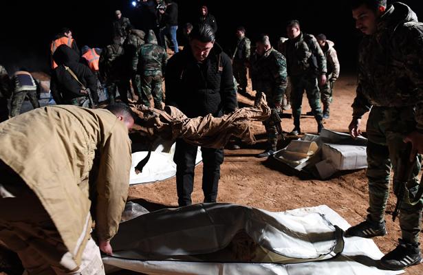 Más de 10 mil civiles fueron asesinados en Siria durante 2017