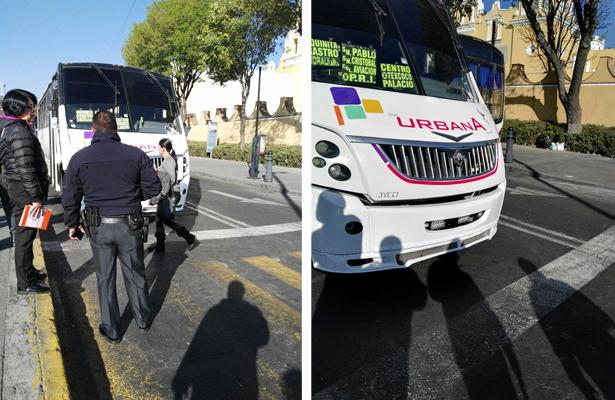 Atropelló mujer de la tercera edad, en el centro de Toluca