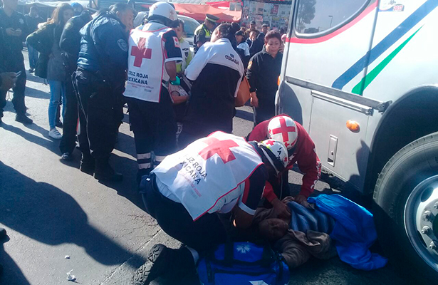 Muere mujer atropellada en el Toreo