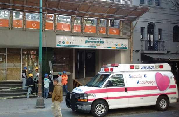 Trabajador muere tras caer de un séptimo piso en la Condesa