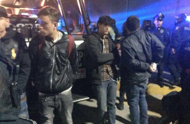 Detienen a seis jóvenes tras riña metro Rosario