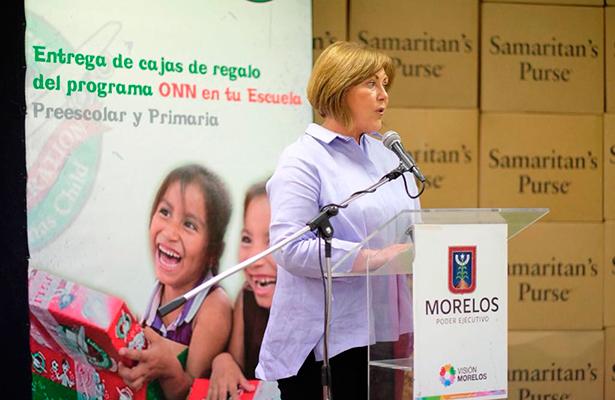 Conserva DIF Morelos la confianza de asociaciones: Elena Cepeda