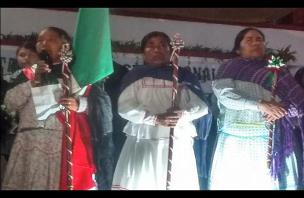 Dos mujeres asumen a ediles en las primeras horas del 2018 en Oaxaca