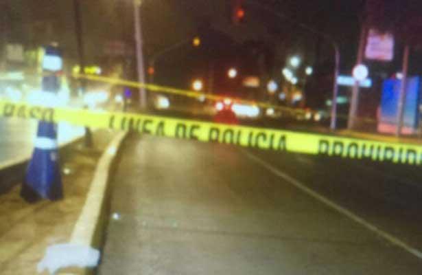 Reportan accidentes automovilísticos durante la madrugada