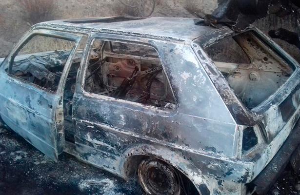 Eran tres de una familia los quemados de la Golf