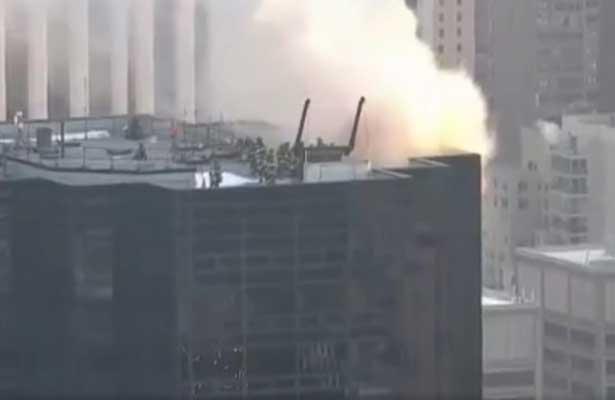 Incendio en la Torre Trump deja dos heridos