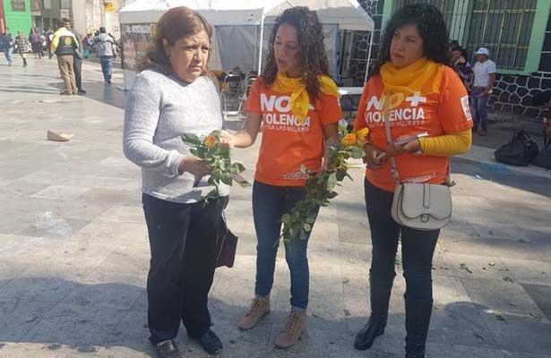 """Promueven el """"violentómetro"""" contra violencia hacia la mujer"""