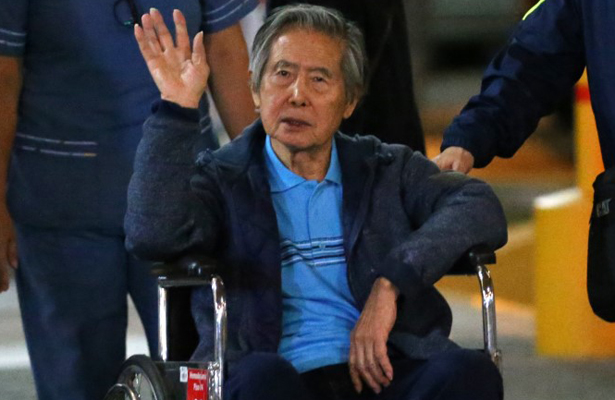 Fujimori quedó en libertad tras polémico indulto