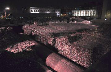 Entregan la segunda fase de iluminación en el Templo Mayor