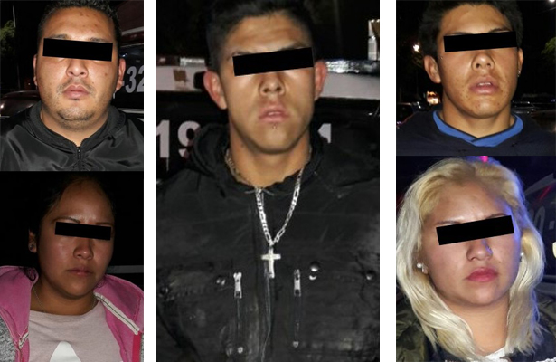 Los atrapan tras asaltar con armas falsas en Edomex