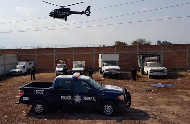 Realizan mega operativo de PF contra huachicoleros en Puebla