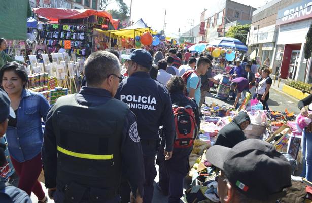 """Implementan operativo """"Reyes Magos Seguros"""" en Naucalpan"""