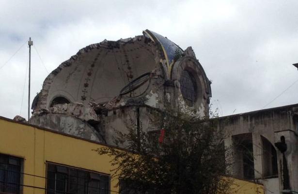 Parroquia de los Ángeles en riesgo de colapso, en la Guerrero