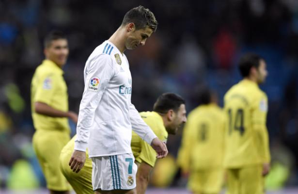 Real Madrid cae ante el Villareal