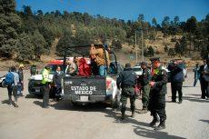 Rescatan a cuatro personas extraviadas en el Nevado de Toluca