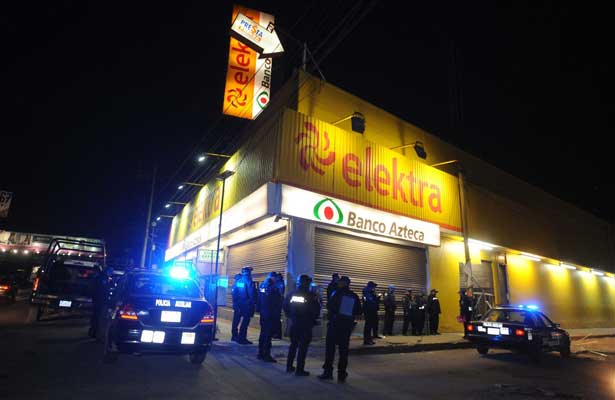 Saquean comercios en Ecatepec